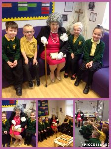 On Thursday y1 and y2 had an very important visitor. They had a great time interviewing Queen Elizabeth II.